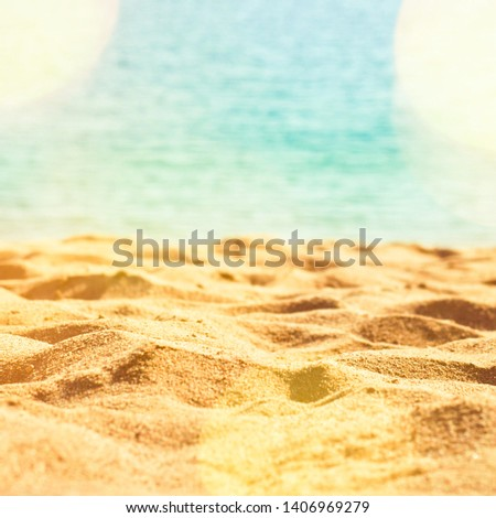 Travel destinations, dream vacation and summer concept - Sunny beach in summertime, perfect family holiday