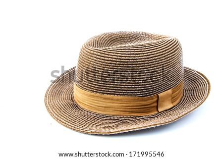 Travel hat isolated on white background #171995546