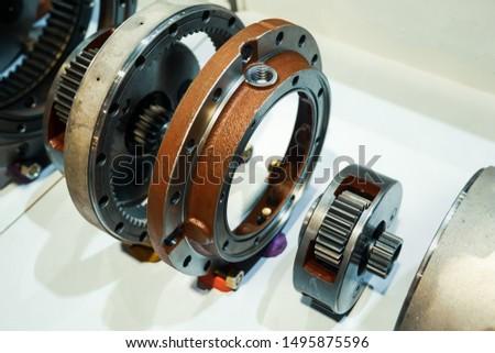 Travel motor reduction gear assy.Backhoe Motors.Hydraulic Travel Motor. #1495875596