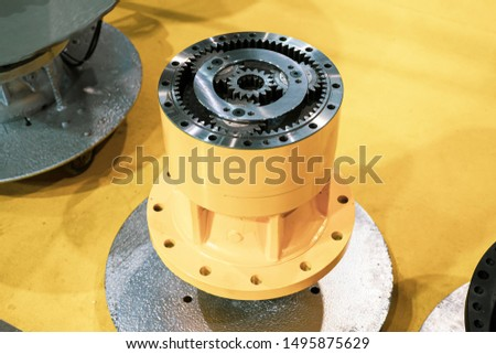 Travel motor reduction gear assy.Backhoe Motors.Hydraulic Travel Motor. #1495875629