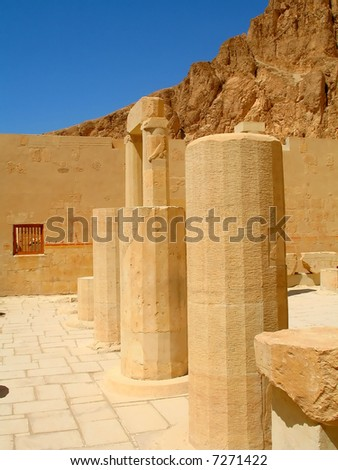 Travel on Luxor old city in Middle East