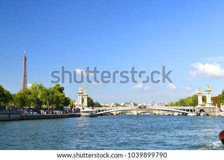 Shutterstock Travel on Sena River, Paris
