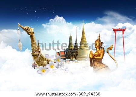 travel thailand concept