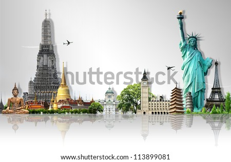 Travel the world - Shutterstock ID 113899081
