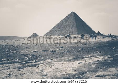 travel to egypt in retro style  ...