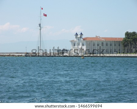 Travel view of Princes Islands featuring Heybeli. The image location is Istanbul in Turkey Europe, Europe. #1466599694