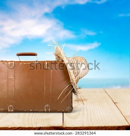 Traveling, summer, beach. - Shutterstock ID 283291364