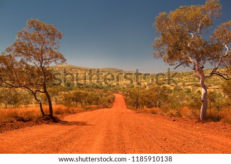 Travelling the Pilbara Region in Western Australia, Hamersley Range, Karijini National Park, Western Australia, Australia #1185910138