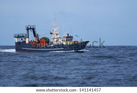 Trawl Fishing #141141457
