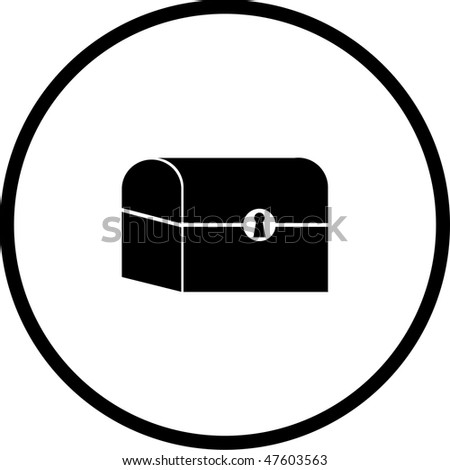 Treasure Chest Symbol Stock Photo 47603563 : Shutterstock