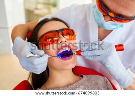 Treatment of caries, modern medicine. Stomatology.