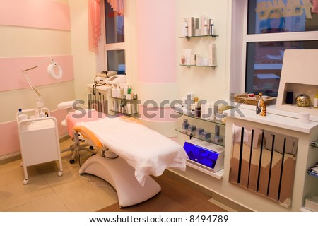 Treatment Room at a Beauty Center