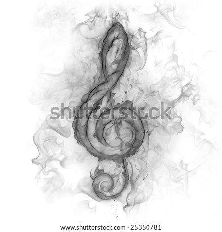 Treble Clef Tattoo. treble clef heart tattoo.