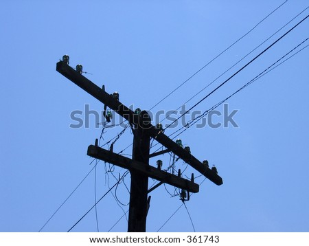 Tree Power Cable Tower