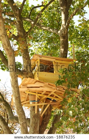 Treehouse in Paris cente, France
