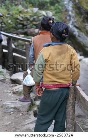 Trekkers in Town