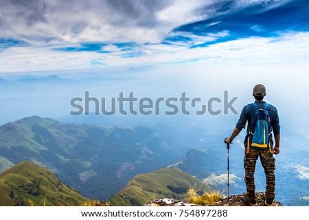 Shutterstock Trekking at Kudremukh, Karnataka, India