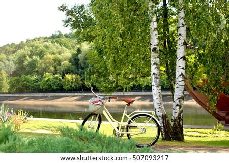 Trekking bicycles - Shutterstock ID 507093217