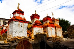 Trekking in Nepal and photography upper mustang