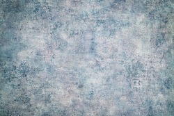 Trendy blue grey stone cement background, copy space. Grungy concrete paper texture, text place, template. Abstract blue ceramic texture or blue stone surface in dark blue trendy color toned.