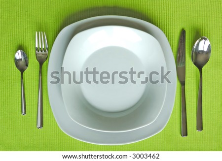Trendy eating set