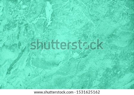 Trendy mint colored natural abstract marble texture with high resolution. For background, product designs or skin luxurious. Year color trend concept. Stock photo ©