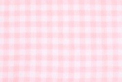 trendy pink checkered gingham textile
