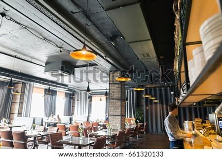 Trendy restaurant ,cafe #661320133