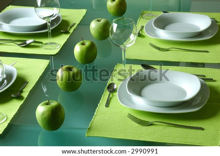 Trendy Table Setting