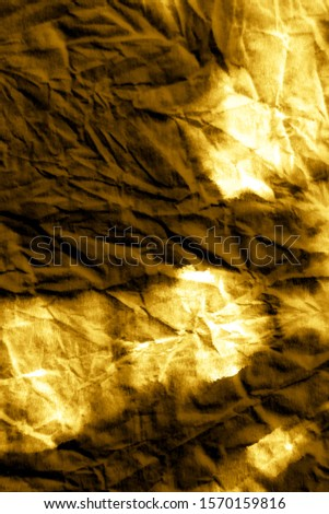 Trendy Textile Background. Dirty Art. Paint Brush Stroking Page. Abstract Vertical Watercolour Strokes. Christmas Sparkle, Yellow On Black. Acrylic brushstrokes.