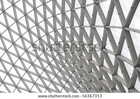 Aluminum alloy structure for Abstract salon barrie