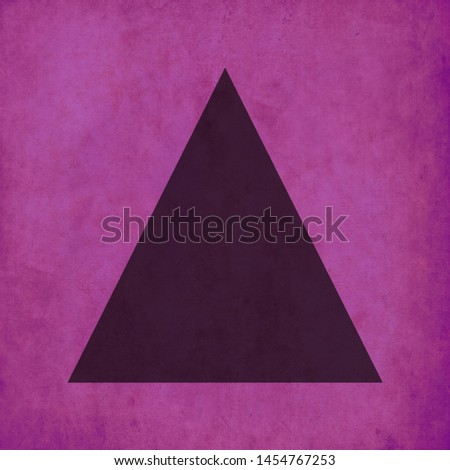 Triangle pink wallpaper and Triangle Black colour wallpaper HD stock footage clip