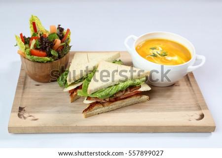 Triangle Sandwich #557899027