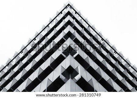 Triangles in a building