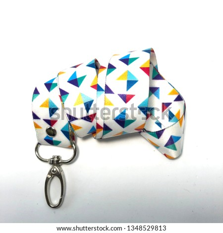 Triangles lanyard pattern design #1348529813