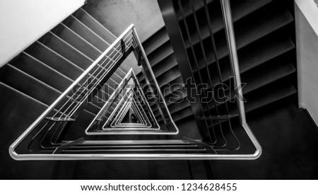 Triangular Emergency Staircase