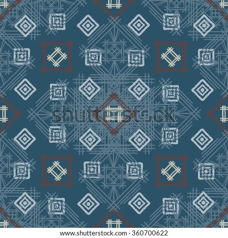 Royalty free Patchwork Quilt Vector Pattern Tiles