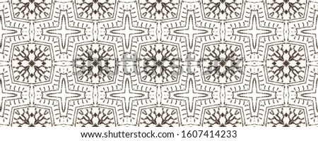 Tribal Boho Pattern. Black and Whitee Seamless Texture. Repeat Tie Dye Ornament. Ikat Japanese Print. Abstract Kaleidoscope Print. Ethnic Tribal Boho Pattern.