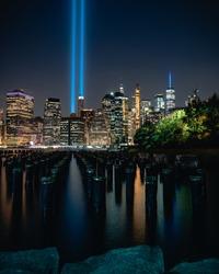 Tribute In Light 9.11.19 by Dan