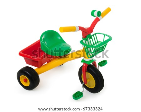 Tricycle - child pedal wheel cycling bicycle toy