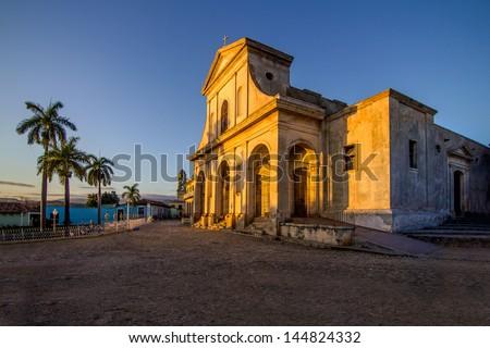 Trinidad - Church of the Holy Trinity - UNESCO World Heritage Site Stock photo ©