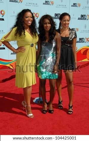 Trinitee 5.7 at the 2009 BET Awards. Shrine Auditorium, Los Angeles, CA. 06-28-09