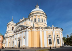 Trinity Cathedral of Alexander Nevsky Lavra, St. Petersburg, Russia