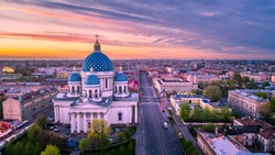 Trinity Cathedral. St. Petersburg. Orthodox church.