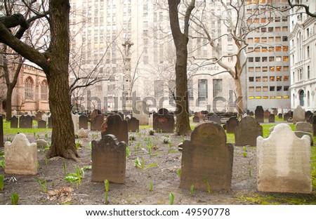 Trinity Church grave site