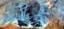 trip to the bottom of the sea, abstract photography of the deserts of Africa from the air. aerial view of desert landscapes, Genre: Abstract Naturalism, from the abstract to the figurative,