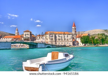 Trogir, Croatia - stock photo