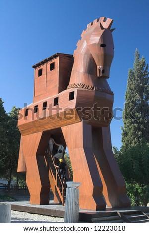 Trojan Horse in Troy,Turkye