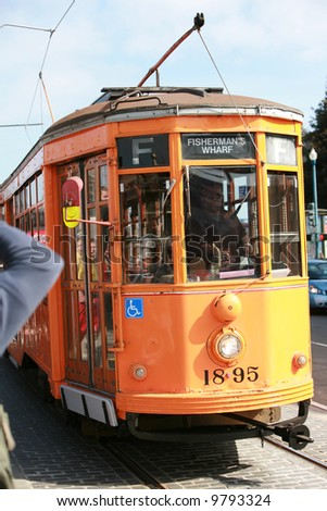 Trolley in San Francisco