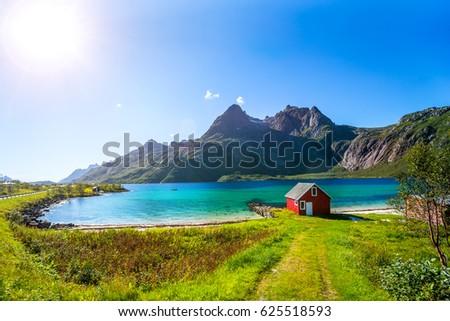 Trollfjord, Lofoten  #625518593